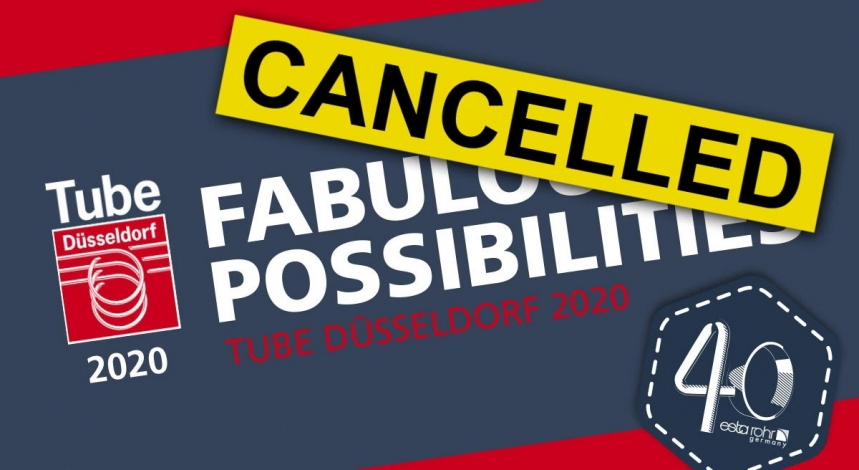[NEW DATE] Fabulous possibilities at the TUBE in 2020